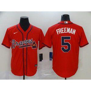 Atlanta Braves Freddie Freeman Red Jersey